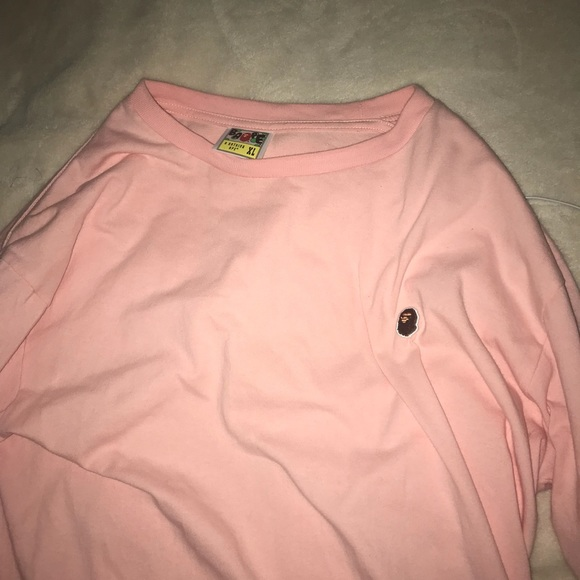 18e033ed Bape Shirts | Xl Long Sleeve Shirt | Poshmark